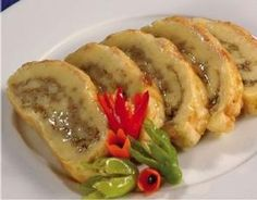 Breadfruit Roll with Fish Filling (Barbados) Recipe | http://bacchanalfever.com/breadfruit-roll-with-fish-filling-barbados/