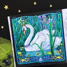 434 отметок «Нравится», 27 комментариев — Irena Herman (@black_aneri) в Instagram: «My new colouring book is wonderful but I had no doubts Did you get your copy? Colouring book:…»
