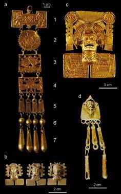 Gold Treasure Monte Alban .mexico Native american history