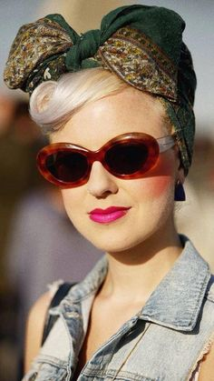 Pin up style inspiration for turban