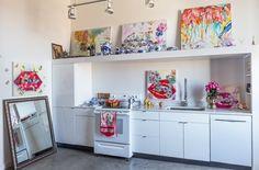 5 Creative Art-Hanging Ideas from an Artist's Converted Loft