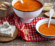 Τραχανάς σούπα με ντομάτα | Συνταγή | Argiro.gr - Argiro Barbarigou