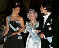Crown Princess Victoria, Prince Lilian, Duchess of Halland, Prince Carl Philip of Sweden