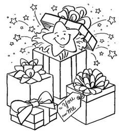 Check Out Some Best Christmas Presents Coloring Pages For The Celebration Of Its A Very Special Occasion Because Celebrates On Birthday