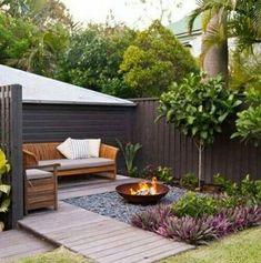 Backyard Deck Layout Back Yard 34 Ideas For 2019 – backyard design ideas Small Garden Landscape Design, Small Backyard Design, Backyard Patio Designs, Small Backyard Landscaping, Landscaping Ideas, Backyard Ideas, Patio Ideas, Firepit Ideas, Small Patio