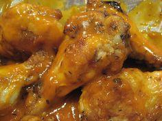 Spicy Crock-Pot Chicken Wings Recipe
