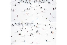 """Top of Aspen Mountain Quadtych, Oversize, 88"""" x 88"""" photo by Gray Malin"""