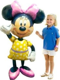 Airwalker Minnie Balloon (each)