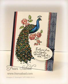 Perfect Peacock stamp set
