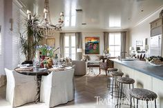 <p>Brother-and-sister design duo Chad and Christina Graci (and 2014 New Trad designers!) undertake an airy update to a New Orleans warehouse-district apartment.</p>