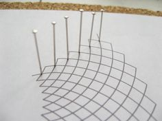 Curved Hand Woven Bobbin Lace : 11 Steps (with Pictures) - Instructables Hairpin Lace Crochet, Crochet Lace Edging, Crochet Edgings, Crochet Borders, Crochet Squares, Filet Crochet, Crochet Shawl, Bobbin Lace Patterns, Tatting Patterns