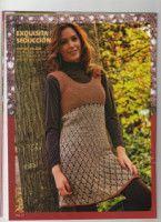 Crochet and arts: tunic Crochet Tunic, Crochet Clothes, Crochet Top, Crochet Woman, Handicraft, How To Make, How To Wear, Knitting, Model
