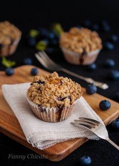 Blueberry muffins, muffins de arándanos