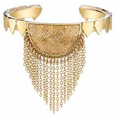 House of Harlow 1960 Triangle Crescent Bracelet