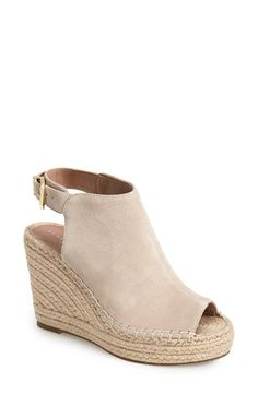 Free shipping and returns on Kenneth Cole New York 'Olivia' Espadrille Wedge Sandal (Women) at Nordstrom.com. A jute-wrapped espadrille platform adds abundant earthy appeal to a contemporary peep-toe sandal.