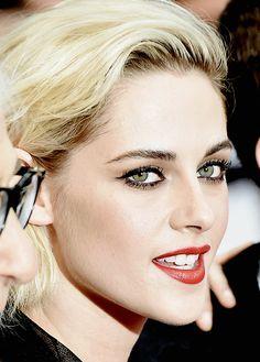 No sound but the wind., tristenblewart:     Kristen Stewart attends the...