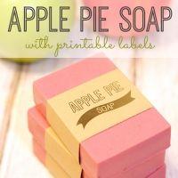 10-Minute Apple Pie Soap + Labels