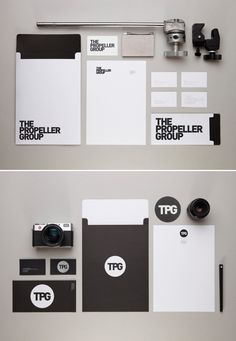 20 Inspiring Stationery Designs. For promotional folders, business cards, flash drives, and collateral printing, visit www.unifiedmanufacturing.com.