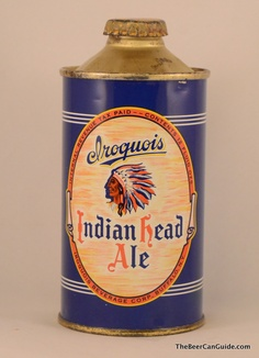 Iroquois Indian Head ale