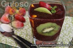 Receita de Sagu de Chia com Frutas