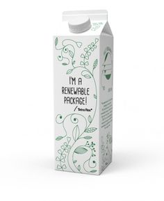 Tetra Pak launches the industry's first beverage carton made entirely from plant based, renewable packaging materials.