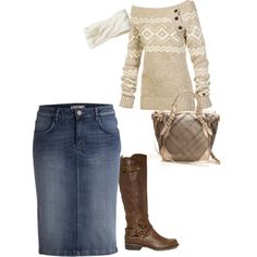 A fashion look from December 2012 featuring Lole sweaters, G by Guess boots and Burberry tote bags. Browse and shop related looks.