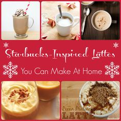 Easy Starbucks-Inspired Red Cup Lattes You Can Make at Home