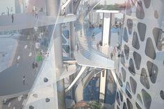 Interior view of Static Shuffle Fashion Museum in Omotesando, Tokyo