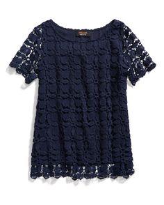 Stitch Fix Stylist I love this top! Spring Resort Wear: Crochet Top