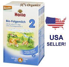 Holle Stage 2 Organic Infant Cow Milk Formula Powder