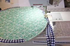 Make a snazzy fabric warmer for tortillas that will go straight from the microwave to the dinner table with this tutorial. Cute Sewing Projects, Sewing Projects For Beginners, Sewing Hacks, Sewing Tutorials, Sewing Crafts, Sewing Patterns, Sewing Ideas, Bag Patterns, Sewing Basics