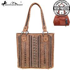 Montana West Studs Collection Concealed Handgun Tote