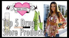 TOP 5 FAVORITE   Drugstore Products (+lista de reprodução)