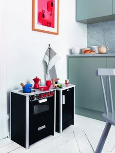 Brio 31356 - Cuisinière noire [1]