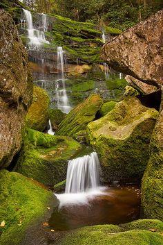 The Elakala Falls at Blackwater Falls State Park make for a great hiking destination. Beautiful World, Beautiful Places, Beautiful Pictures, The Places Youll Go, Places To Go, Places To Travel, Travel Destinations, Beautiful Waterfalls, Beautiful Landscapes