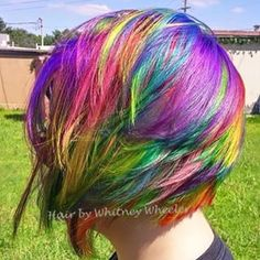 "So the best of both worlds. | WTF Is ""Sand Art Hair"" And Why You'll Want It  #RainbowDash"