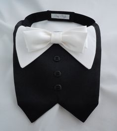 TUX+collar+bib+for+Small+Dogs+by+DogStyle+on+Etsy,+$20.00