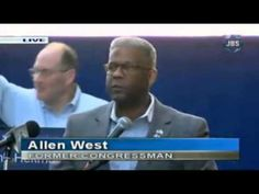 AT FIRST I CHEERED.  THEN I WONDERED.  THEN I WAS AFRAID.  IN THIS VIDEO ALLEN WEST IS SPURRING AMERICAN PATRIOTS TO WAR.  THAT IS WHAT THE ADMINISTRATION WANTS.  ALLEN WEST IS A PUPPET.  THEY DO NOT WANT TO WAIT FOR ELECTIONS.  THEY WANT WAR NOW.  DO NOT GIVE IT TO THEM.