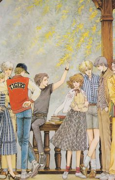 Feh Yes Vintage Manga Old Anime, Manga Anime, Anime Art, Manga Illustration, Character Illustration, Illustrations, Pretty Art, Cute Art, Yazawa Ai