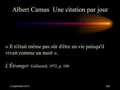 Albert Camus (1913-1960) n° 299