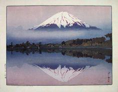 Hiroshi Yoshida. Yamanaka Lake. 1927.