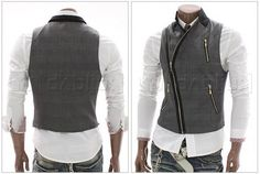 Fashion Vest Marcel (Black) - Rockdenim - $599nok Vests, Style Me, Fashion Vest, Marcel, Jackets, Stuff To Buy, Black, Modern, Dresses