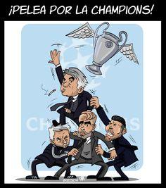 ¡Pelea por la champions! pic.twitter.com/06ooz8Y6ui