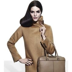 Max Mara Ad Campaign Fall/Winter 2011 Shot #8 - MyFDB ❤ liked on Polyvore featuring ad campaign and hilary rhoda