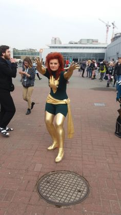 Dark Phoenix Cosplay Outfit