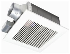 Buy the Panasonic White Direct. Shop for the Panasonic White WhisperFit 110 CFM Sone Ceiling Mounted Energy Star Rated Bath Fan with or Duct Diameter and save. Kitchen Exhaust, Bathroom Exhaust Fan, Kitchen Extractor, Extractor Fans, Shower Enclosure, Shower Tub, Bath Tub, Vancouver, Modern