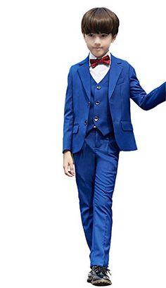 Boys Wedding Suits, Tuxedo, Royal Blue, Cups, Slim, Studio, Formal, Fitness, Fashion