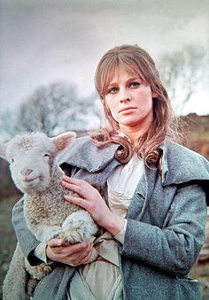 Julie Christie as Bathsheba Everdene in John Schlesinger's, 'Far from the Madding Crowd', 1967.