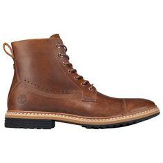 Timberland Men's West Haven Side-Zip Boots Tan Full-Grain