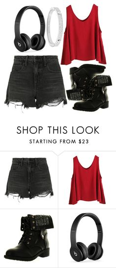 """""""Top #72"""" by deedee-pekarik ❤ liked on Polyvore featuring Alexander Wang, WithChic, Refresh, Beats by Dr. Dre and Michael Kors"""